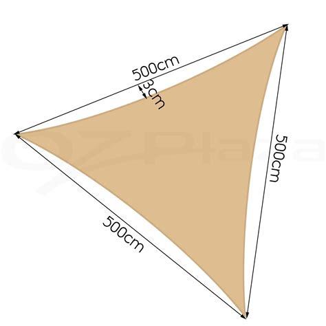triangle awning sun shade sail cloth canopy outdoor shadecloth awning