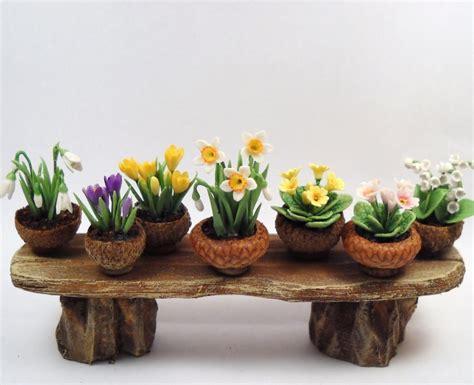 acorn dolls house acorn cap flower pots at cdhm cap