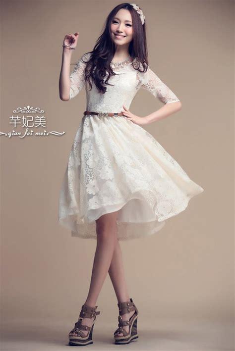 Dress Import White L Xl offwhite princess look dress import koder cs