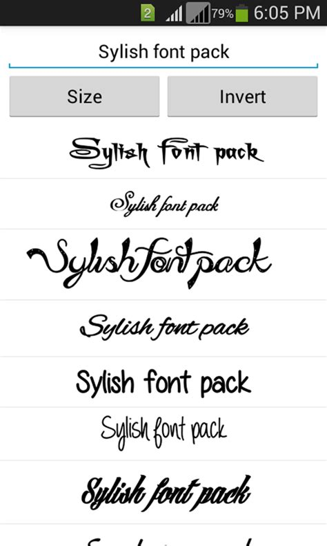 font for android stylish fonts android apps on play