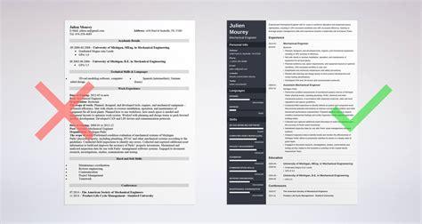 the elegant sample resume for fresh graduate mechanical engineer