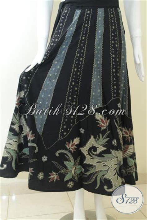 Rok Hitam Panjang By Marionline bawahan batik tulis panjang rok batik corak modern warna