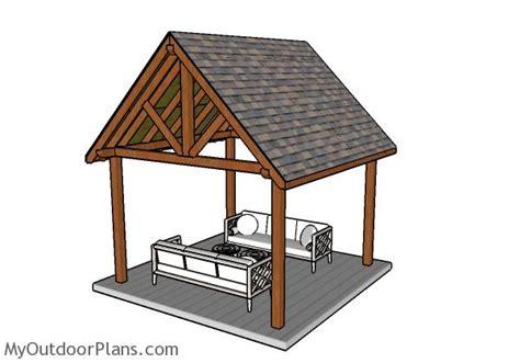 pavilion plans myoutdoorplans  woodworking