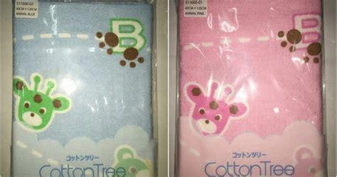 Laris Cotton Tree Handuk Jepang Brown take baby shoppee handuk jepang cotton tree 4 motif