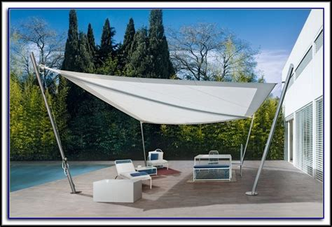Sail Cloth Awning by Fixed Awnings For Decks Decks Home Decorating Ideas