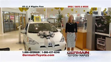 Germain Toyota Naples Fl Germain Toyota Of Naples Big One More
