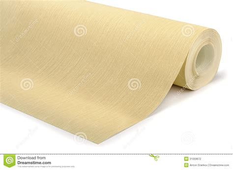 roll of roll of wallpaper stock photography image 31059672