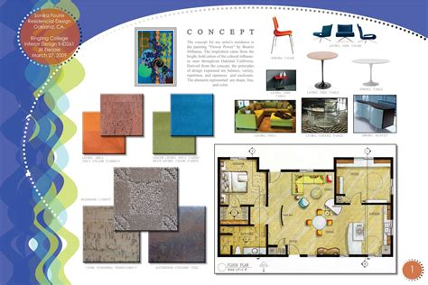 interior design presentation board layout interior design digital presentation boards design