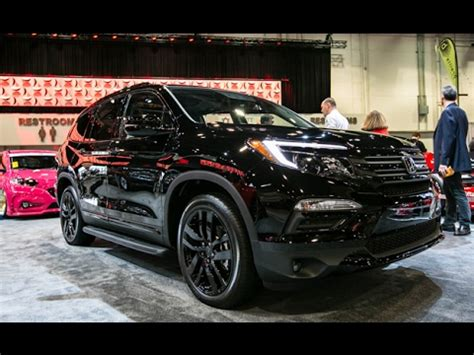 2019 honda pilot 2018 washington dc car show 2018 youtube