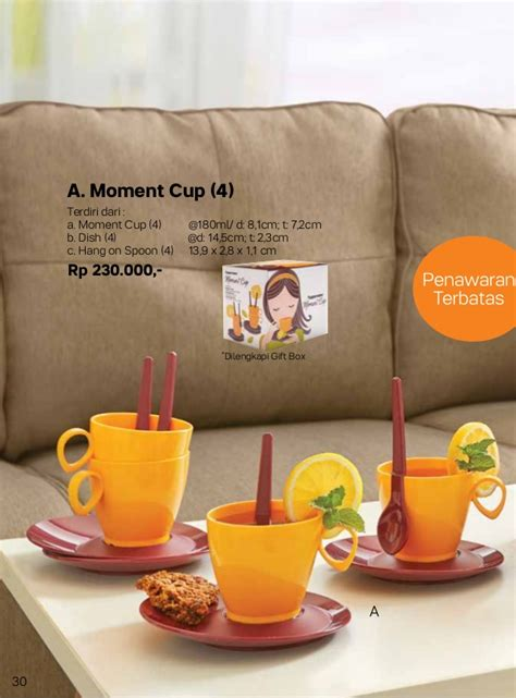 Moment Cup Tupperware With Box 087837805779 tupperware 2017 katalog tupperware