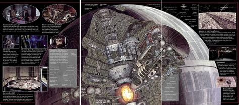 how big is a section how did the death star move science fiction fantasy
