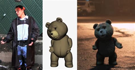 seth macfarlane voices ted votd seth mcfarlane s motion capture performance as ted