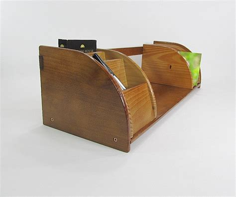 Vintage Letter Holder Mail Holder Desk Organizer Wall Mail Mail Organizer Desk