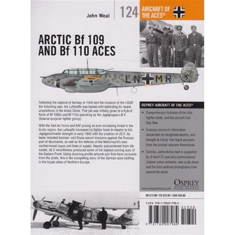 arctic bf 109 and arctic bf 109 and bf 110 aces ace nr 124 j weal modellbau milit 228 rgeschichte fachliteratur dr