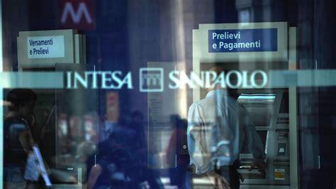 www intesa san paolo intesa prima in italia sulla sostenibilit 224 parola di dow