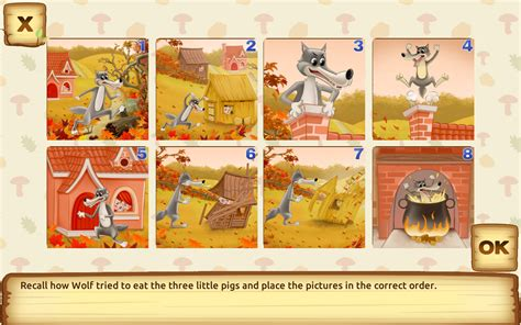 three story three little pigs for kids 3 5 android apps on google play