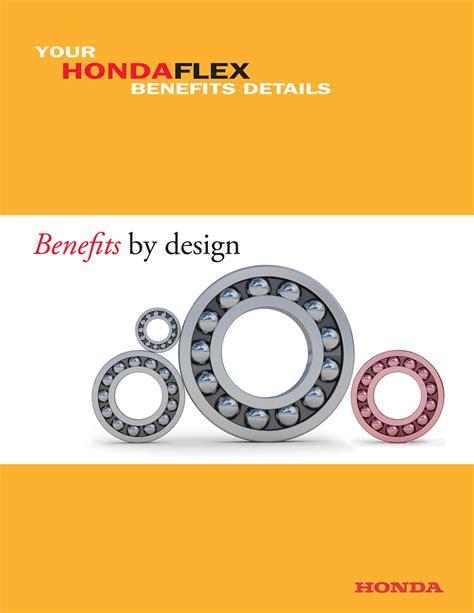 honda benefits honda benefits booklet on behance