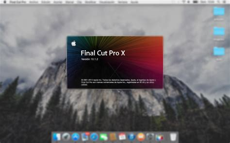 final cut pro os x yosemite final cut pro x compatible con os x yosemite iosxtreme