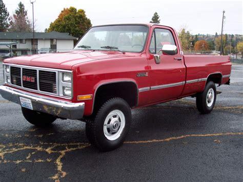 classic gmc 1987 gmc classic v2500 k20 3 4 ton 4x4