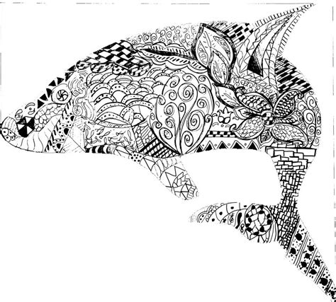 free coloring pages of intricate animals