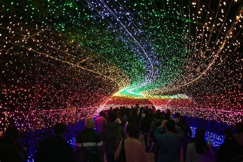 Japan's Spectacular Tunnel of Lights   My Modern Met