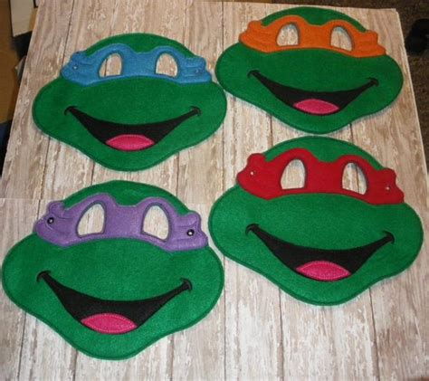 pattern for ninja turtle mask 8x10 ninja turtle full mask pattern ofnah