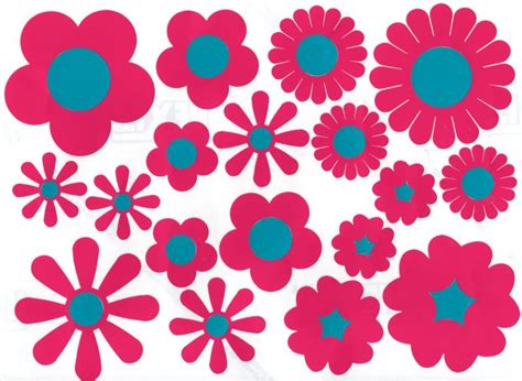 Vinyl Wall Stickers Uk mixed flower bed car stickers hippy motors car stickers