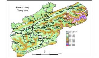 harlan ky map groundwater resources of harlan county kentucky