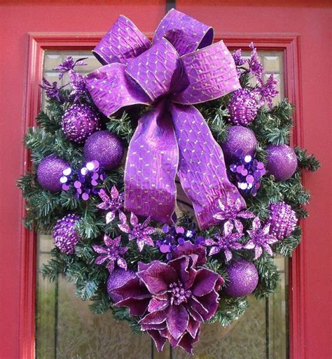 stunning purple christmas decor ideas for a royal celebration