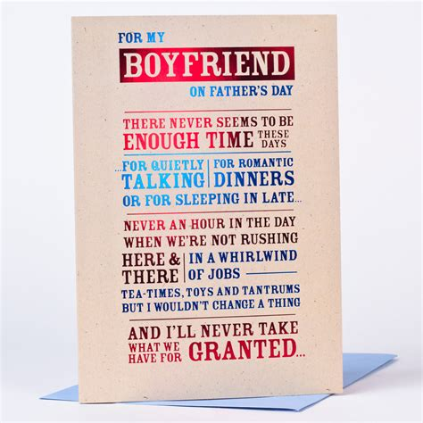 day messages for boyfriend s day card for my boyfriend only 99p