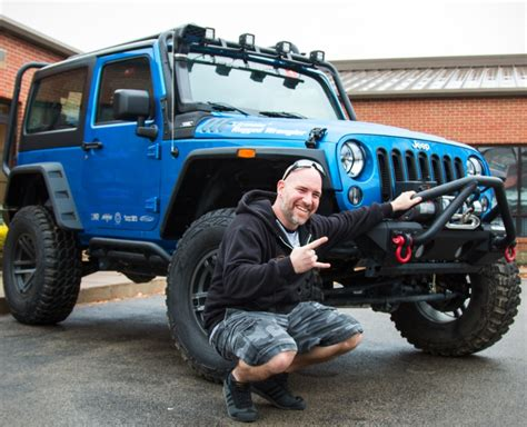 Cole Jeep 4wd Awards Winner In Ultimate Rugged Wrangler Giveaway