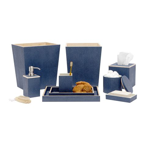 bathroom tray set buy amara manchester tray set navy amara