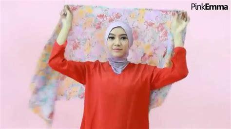 youtobe tutorial hijab syar i tutorial hijab floral syar i kasual youtube