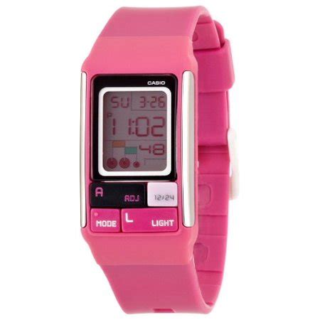 Casio Poptone Ldf 52 Pink by Casio Ldf52 4a S Poptone Pink Pastel Lcd Digital