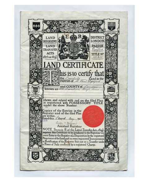 house title insurance land registry