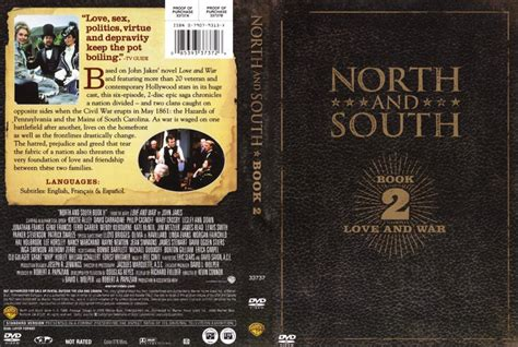 and south book 2 tv dvd scanned covers and