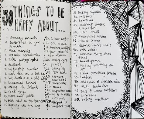 happy journal happy how drawing your day ignites creativity boosts gratitude and skyrockets happiness books 50 things to be happy about inspired by a t shirt