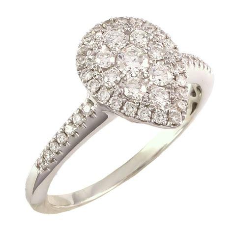 buy 0 46 carats 18k white gold ring
