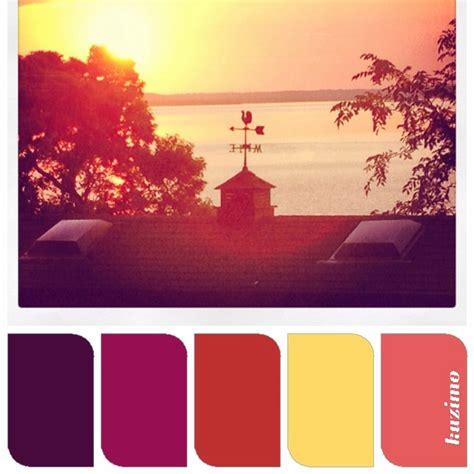 sunset color sunset color palette wedding colors pinterest soaps