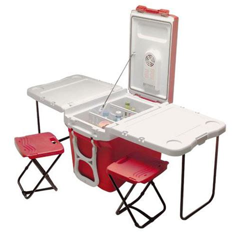 Cooler With Table And Chairs by Needs More Cheese Friday Favorites 8 Tailgating Must Haves