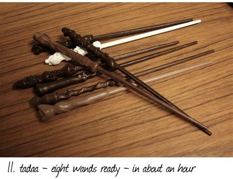 How To Make Harry Potter Wands Out Of Paper - diy harry potter style wands 12 pics