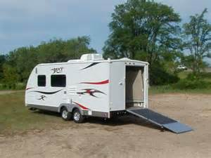 New Rv Awning Small Toyhauler For Sale Harley Davidson Forums