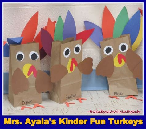 turkey paper bag craft 128 best images about thanksgiving centerpiece on