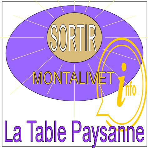 table paysanne la table paysanne 224 montalivet