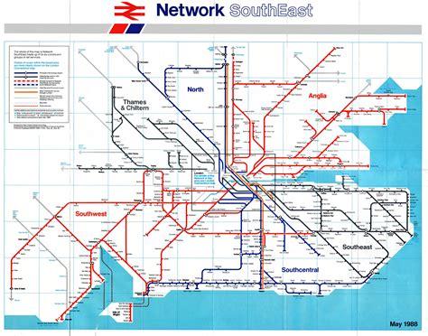 map usa rail network south east