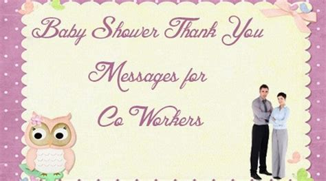 Thank You To Coworkers For Baby Shower Gift by Baby Shower Messages Page 2