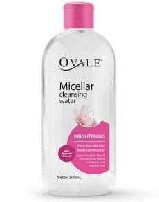 Ovale Micellar Water Brightening For Acne Skin Botol 100 Ml all products of ovale cosmetics daily