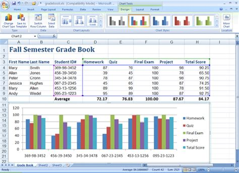 excel 2007 format all data labels at once using ms excel 2007 to analyze data an introductory tutorial