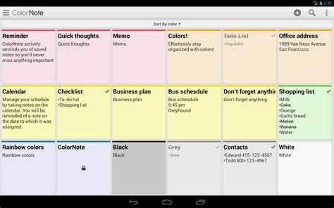 notes apk colornote notepad notes apk for android youth plus india