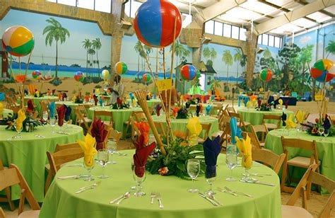 island themed decorations 30 table decorations table decorating ideas